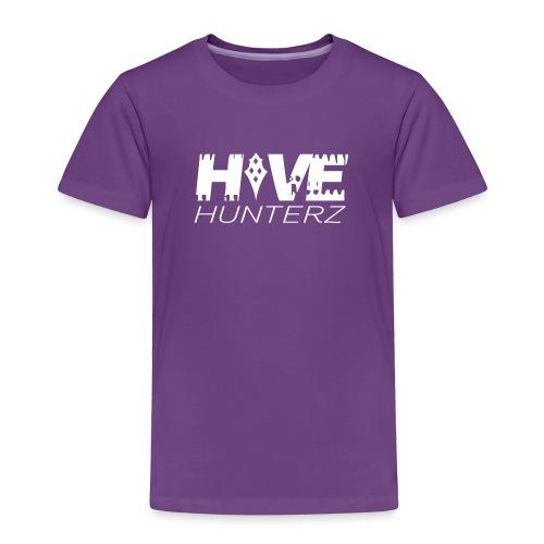 White Hive Hunterz Logo - Toddler Premium T-Shirt