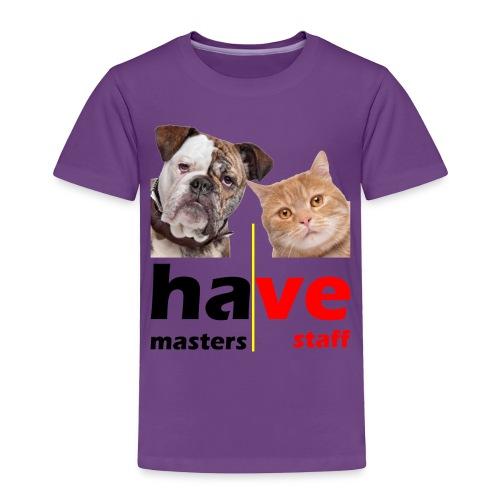 Dog & Cat - Toddler Premium T-Shirt