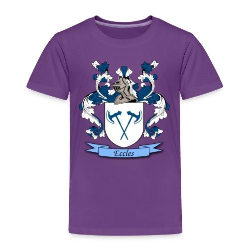 Eccles Family Crest - Toddler Premium T-Shirt
