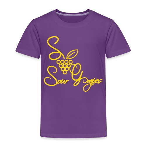 Lady Grapes - Toddler Premium T-Shirt