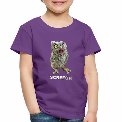 Screech Owl Patient at WildCare - Toddler Premium T-Shirt