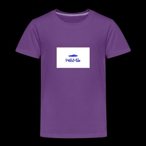 Blue 94th mile - Toddler Premium T-Shirt