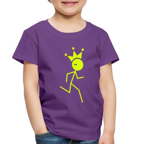 Winky Running King - Toddler Premium T-Shirt