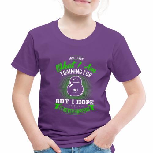 Workout Training - Toddler Premium T-Shirt