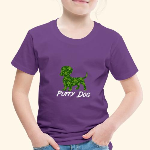 PUFFY DOG - PRESENT FOR SMOKING DOGLOVER - Toddler Premium T-Shirt