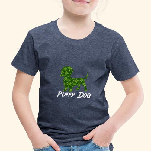 PUFFY DOG - PRESENT FOR SMOKING DOGLOVER - Toddler Premium T-Shirt
