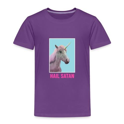 Satanic Unicorn - Toddler Premium T-Shirt