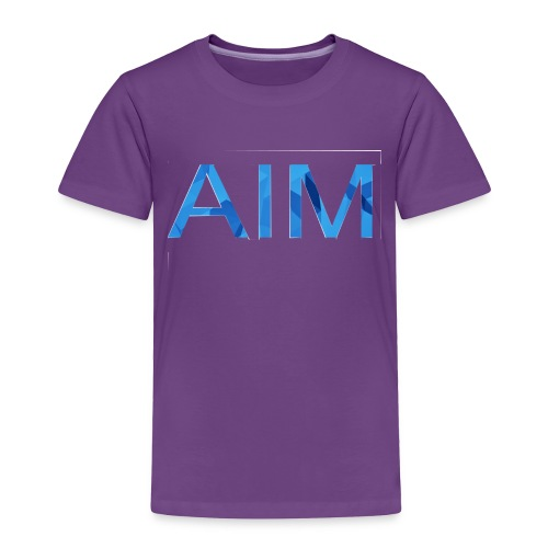 AIM logo - Toddler Premium T-Shirt