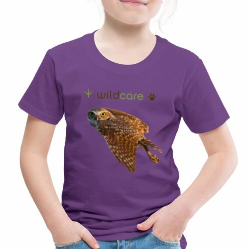 Burrowing Owl in Flight - Toddler Premium T-Shirt