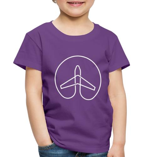 She Wanders the Globe - Men - Toddler Premium T-Shirt