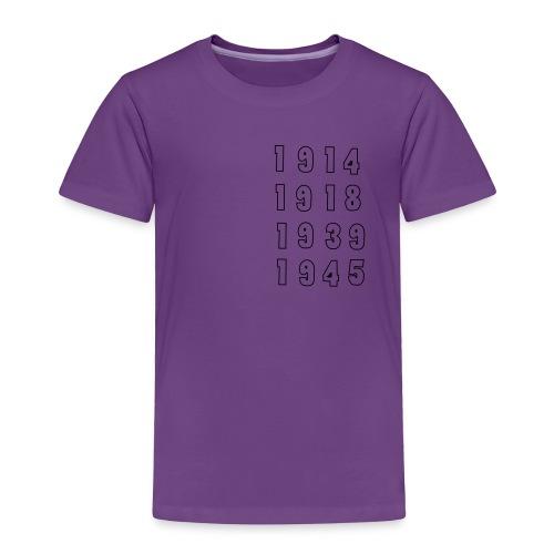 Great War Dates - Toddler Premium T-Shirt