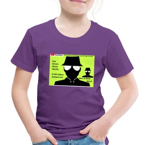 Mib 2 Men with Back Crew Logo - Toddler Premium T-Shirt