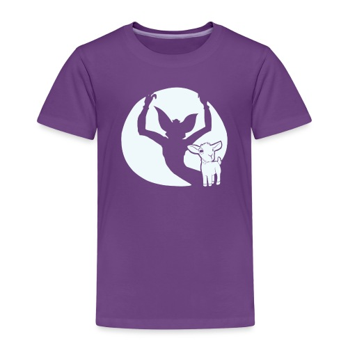 evil goat - Toddler Premium T-Shirt