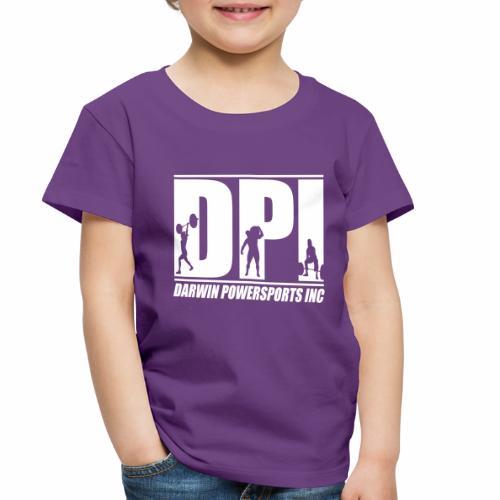 DPI Logo White - Toddler Premium T-Shirt