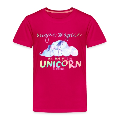KIDS Everything Unicorn Shirt - Toddler Premium T-Shirt