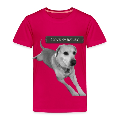 Bailey - Toddler Premium T-Shirt