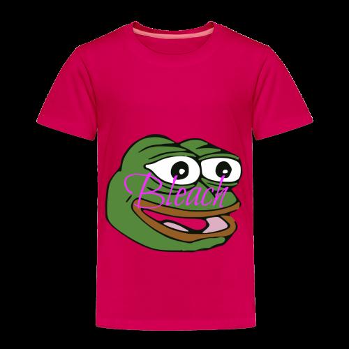 AnonymousBleach (Green Bleach Loving Frog) Shirts - Toddler Premium T-Shirt