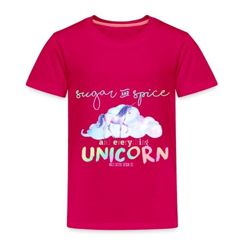 KIDS Everything Unicorn Shirt - Toddler Premium T-Shirt