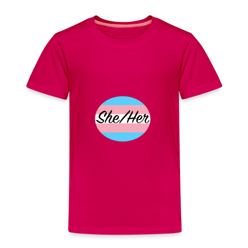She/Her - Toddler Premium T-Shirt