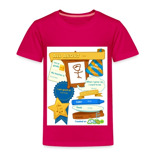 all about ana - Toddler Premium T-Shirt