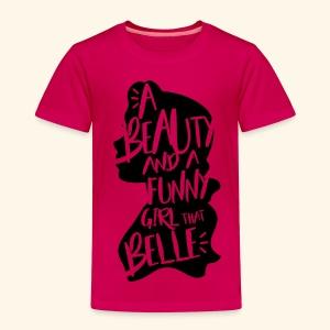 Funny girl - Toddler Premium T-Shirt