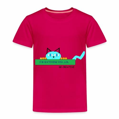 CREATIVE CAT - Toddler Premium T-Shirt