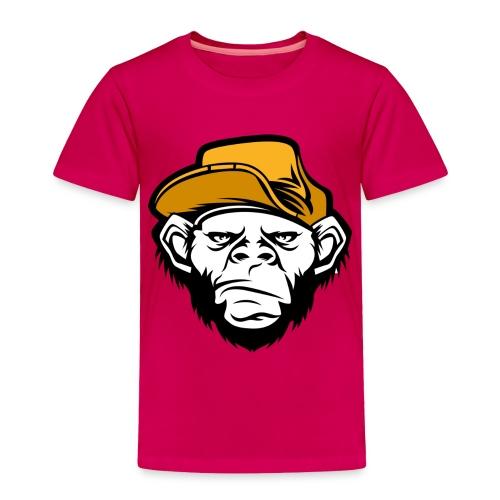 bad monkey face - Toddler Premium T-Shirt