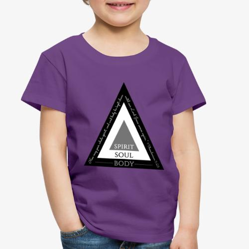 Spirit Soul Body - Toddler Premium T-Shirt