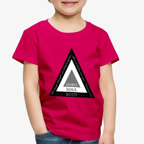 Spirit Soul Body - Toddler Premium T-Shirt