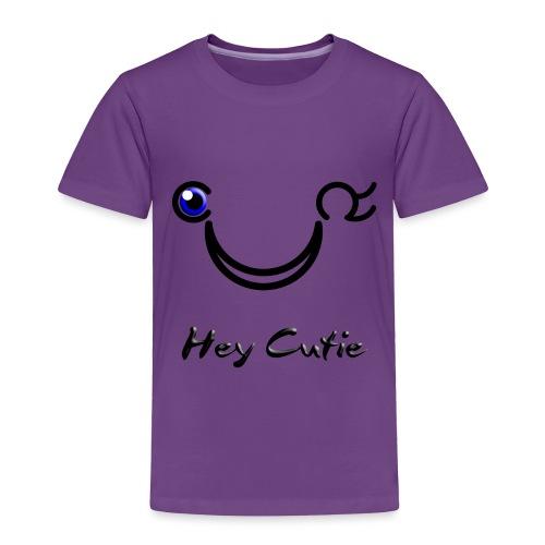 Hey Cutie Blue Eye Wink - Toddler Premium T-Shirt