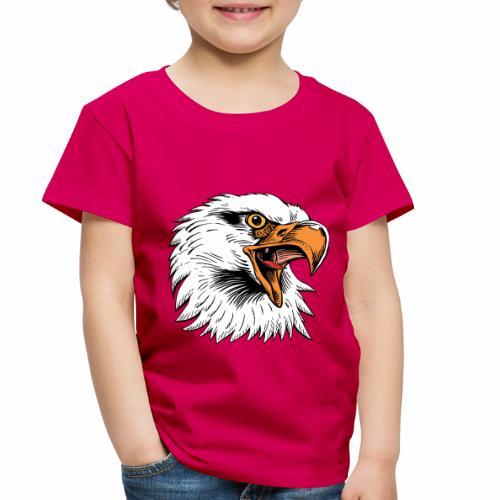 Eagle Head Screaming - Toddler Premium T-Shirt