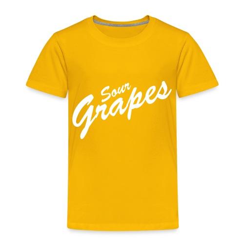 Sour Grapes - Toddler Premium T-Shirt