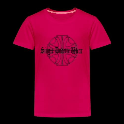 SDW maltese old letters dudette - Toddler Premium T-Shirt
