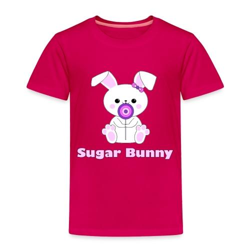Sugar Bunny - Toddler Premium T-Shirt