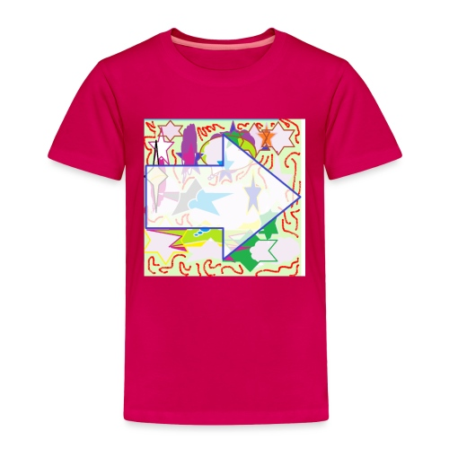 shapes - Toddler Premium T-Shirt