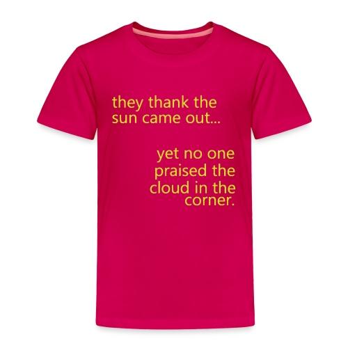 cloud & sun - Toddler Premium T-Shirt