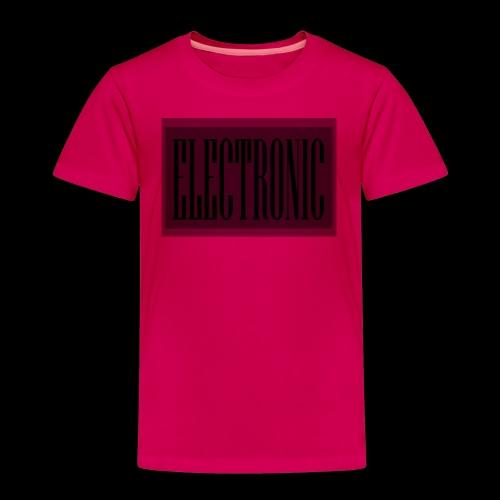 Electronic Logo - Toddler Premium T-Shirt