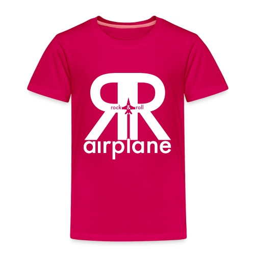Rock and Roll Airplane - Kids - Toddler Premium T-Shirt