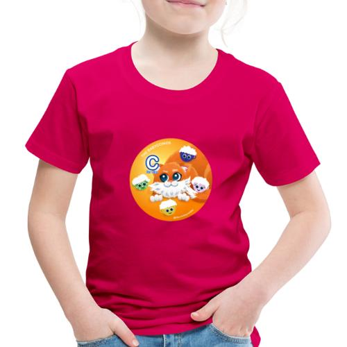 The Babyccinos The letter С - Toddler Premium T-Shirt
