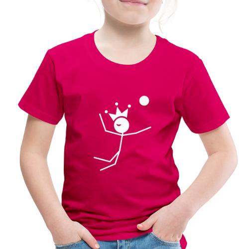 Volleyball King - Toddler Premium T-Shirt