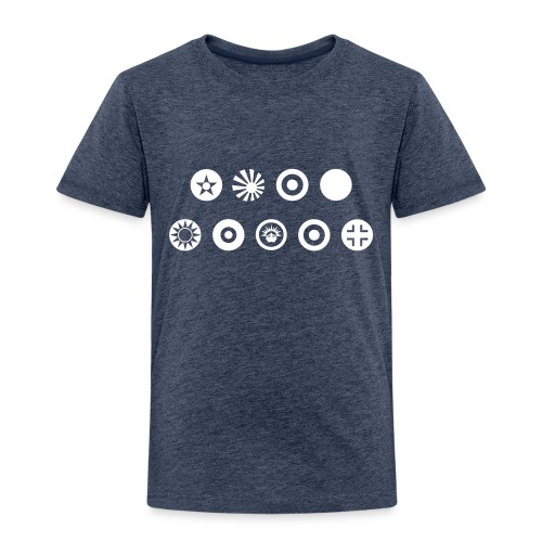 Axis & Allies Country Symbols - One Color - Toddler Premium T-Shirt
