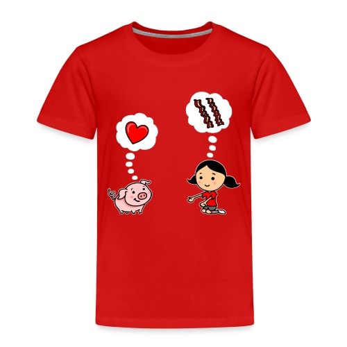 For the Love of Bacon - Toddler Premium T-Shirt