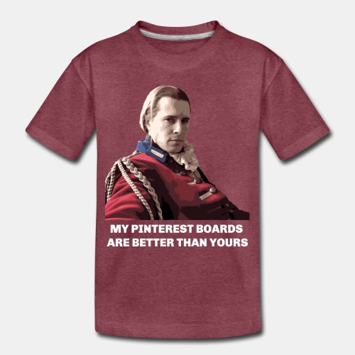 Lord John Grey - Pinterest Boards - Toddler Premium T-Shirt