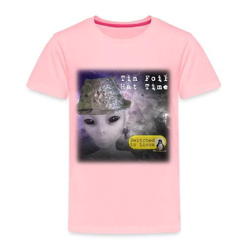 Tin Foil Hat Time (Space) - Toddler Premium T-Shirt