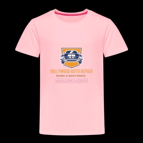 CLASSIC CARS! CLASSIC HOLLYWOOD! - Toddler Premium T-Shirt