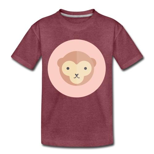 Monkey - Toddler Premium T-Shirt