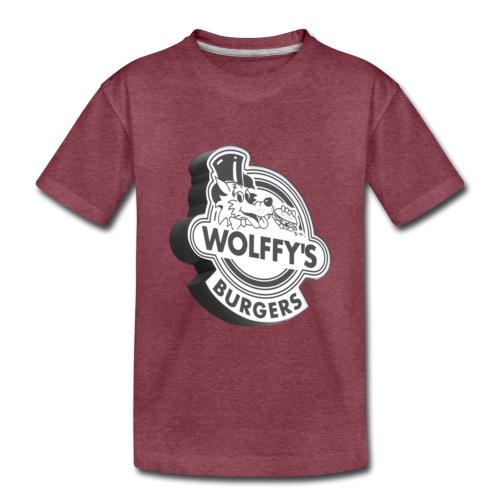 Wolffy's Hamburgers - Toddler Premium T-Shirt