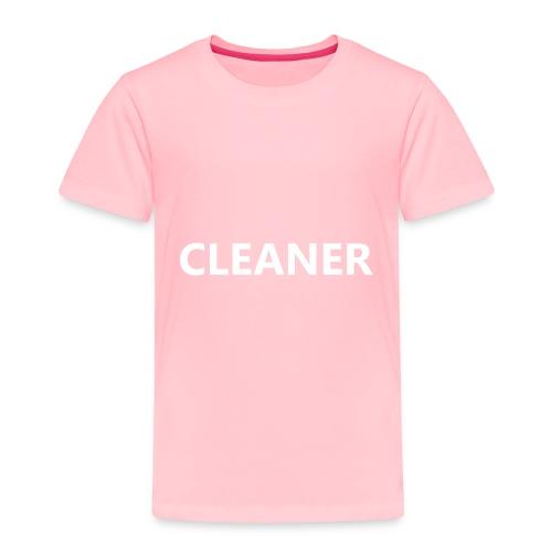 Cleaner - Toddler Premium T-Shirt