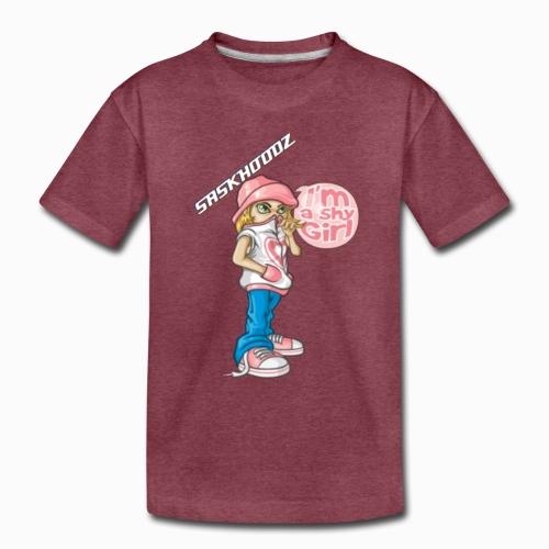 saskhoodz girl - Toddler Premium T-Shirt