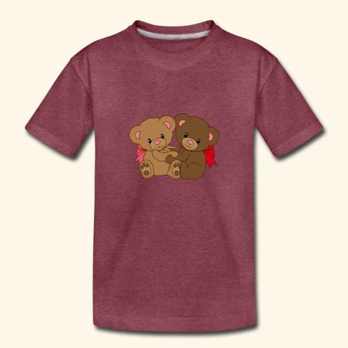 Bears Hugging - Toddler Premium T-Shirt